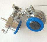 Clapet anti-retour d'acier inoxydable de coup sanitaire d'air