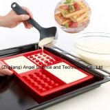 Moulage populaire de chocolat de silicones pour l'outil Sc39 de traitement au four de biscuit de gaufre