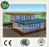 Casa móvil moderna/chalet prefabricados de la paga inferior/prefabricados por los días de fiesta Llife