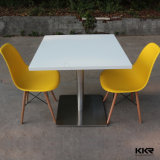 Обеденный стол прямоугольника Kkr твердый поверхностный выполненный на заказ (V70626)