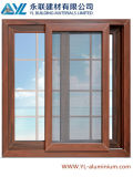 Style europeo Aluminum Sliding Window con Grill