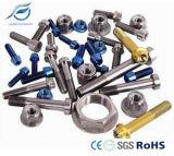 Fermo non standard e standard lavorato titanio