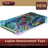Grande equipamento interno acolchoado macio do campo de jogos (T1504-8)