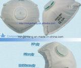 Wegwerfbares White Cup Shape Dust Mask mit Valve