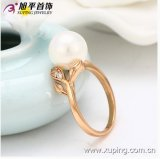 Synthetic CZの普及したXuping JewelryローズGold Color Pear Ring
