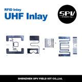 Etiqueta ISO18000-6c da logística do estrangeiro H3 RFID da freqüência ultraelevada