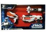 Plastic Stuk speelgoed van Zwaard en Kanon met het Opvlammende Licht van de Laser