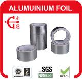 Cinta reforzada fibra de vidrio adhesiva barata resistente de envejecimiento del papel de aluminio