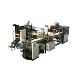 기계 (YX-6418)를 만드는 완전히 자동적인 판지 상자