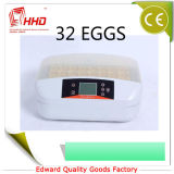 New ~ 32 Eggs Automático LED Candler Mini Chicken Poultry Egg Incubadora Hatching Machine