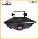 Luces calientes del efecto del UFO LED de la rotación DMX del zoom nuevas para el disco