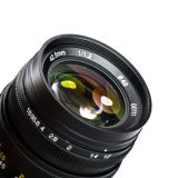 Zhongyi Mitakon Freewalker 42.5mm F/1.2 Camera Lens M43 Micro 4/3 di MFT di Mount