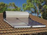南アフリカ共和国の平らな版の太陽熱湯の間欠泉