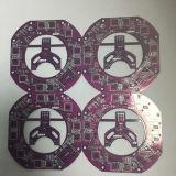 Máscara vermelha/azul 94V0 da solda superfície de Hal da placa do PWB de duas camadas para o reprodutor de DVD