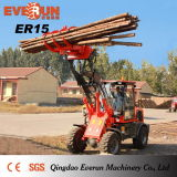 Rops&Fops Cabin를 가진 Everun 세륨 Approved Front End Loader Er15