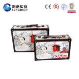 La impresión de gama alta de la lona cubrió las maletas de la cartulina (SCSC00003)