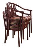 Stackalbeのより低い背部円形のArmrestの椅子