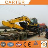 Escavatore resistente idraulico multifunzionale dell'escavatore a cucchiaia rovescia del cingolo CT360