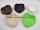 Tazón de fuente de cerámica del perro de la melamina del alimentador de la fuente de producto del animal doméstico