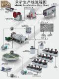 Фильтр вакуума для схемы технологического процесса завода по обработке Beneficiation штуфа Mercury минеральной