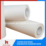 100GSM High Speed Fast Dry Sublimation Heat Transfe Paper Roll Size