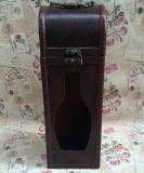 Коробка бутылки вина изготовленный на заказ деревянной коробки вина одиночная