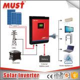 고주파 MPPT 유형 24VDC 태양 변환장치 순수한 사인 파동