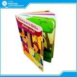 Impression de livre de panneau de carton d'enfant de coloration