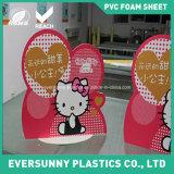 인쇄하는 디지털 게시판은 승진 PVC를 광-고해서 자유롭게 널 장 PVC 거품 거품이 인다
