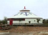 De Mongoolse Tent van het Frame van Aluminunm en van het Bamboe