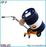 Vier Rad-Handlaufkatze für Stahltrommeln De450b