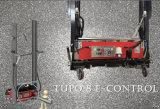 機械レンダリング機械を塗るConsrteuctionのツールのデジタル壁