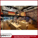 고품질 운동복 상점 전시 Manifacture 의 공장에서 자전거 개념 상점 디자인