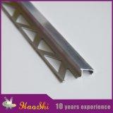Testo fisso di alluminio del bordo delle mattonelle di pavimentazione per la decorazione della casa modulare
