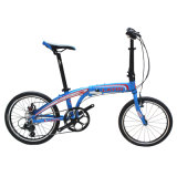 Vélo pliable d'alliage d'aluminium