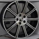 Серебр/гипер чернота/кром катят оправы колеса сплава автомобиля