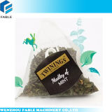 Empaquetadora del té del bolso del triángulo para el té negro de Rose