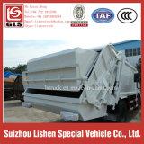 12 M3 쓰레기 쓰레기 압축 분쇄기 트럭 패물 Tranportation 고품질 졸작 쓰레기 압축 분쇄기