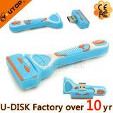 Mecanismo impulsor de destello de la insignia del USB del USB de encargo 2.0/3.0 del palillo/de la máquina de afeitar