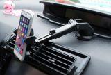 Montagem de venda quente do carro 2016 para o dispositivo móvel, molde plástico da montagem do respiradouro em dois sentidos do carro de Smartphone do estiramento