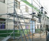Échafaudages qualifiés par AS/NZS1576.3 de GV Ringlock pour la construction