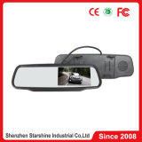 TFT LCD Car Mirror Monitor com o Video Input 2-Way para Car Cameras e reprodutor de DVD