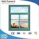 Marco de aluminio barato que resbala la ventana del balcón/la sola ventana de cristal con alta calidad