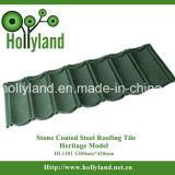 La pietra scheggia le mattonelle di tetto d'acciaio rivestite (mattonelle classiche)