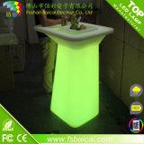 Stab-Cocktail-Tabelle der Qualitäts-Glühen-Farben-Leuchte-LED