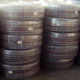 Transparente no tóxico de la manguera de cables de acero de plástico PVC