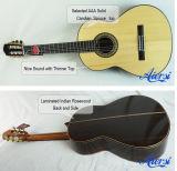 Aiersiハンドメイド型のスペインの技術の固体上の古典的なギターSc02ar