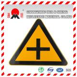 Film r3fléchissant luminescent de photo de Pet/PVC pour les signes de route d'avertissement (FG301)