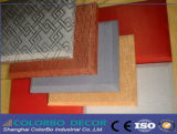 Panneau de mur acoustique de Hall de décoration d'humidité de résistance de tissu multifonctionnel de fibre de verre