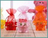 L'acquazzone di bambino della festa nuziale del cestino della caramella del sacchetto del Organza favorisce il sacchetto